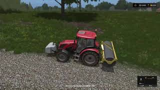 Farming Simulator 17 - PS4 - How To Build A Not Growing Grass Road
