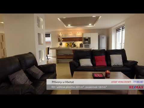 Video Prodej domu v osobním vlastnictví 201 m², Všetaty