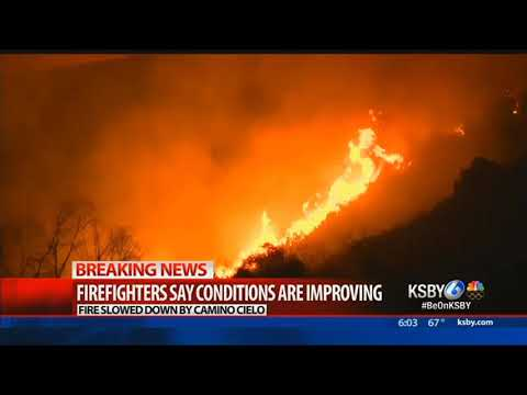 Thomas Fire burns 231,700 acres, containment grows to 20%