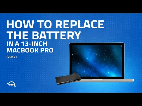 How to Replace the Battery in a 13-inch MacBook Pro 2012 (Updated)