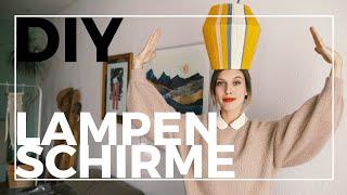3 Pinterest inspirierte DIY Lampenschirme | Jelena Weber