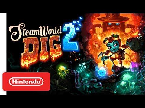 SteamWorld Dig 2 - Nintendo Switch Launch Trailer