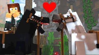 Minecraft : NAMORO DE CAVALOS !! - The Sims Craft 2 #13