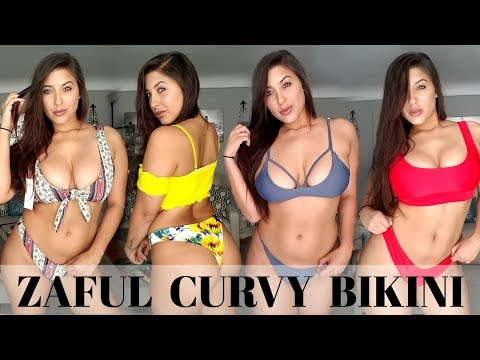 HUGE ZAFUL BIKINI HAUL ( CURVY EDITION ) HONEST REVIEW 2018