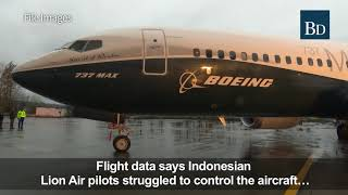 Similarities between the Lion Air and Ethiopian Airlines crashes
