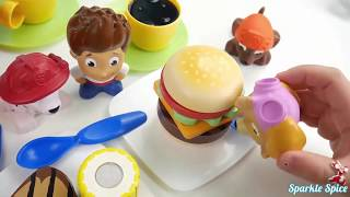 Learn Colors for Children and Preschool Toddlers Paw Patrol Sick Pups Hospital Body Paint Nursery