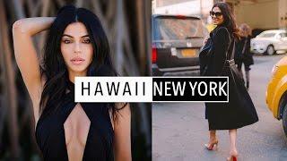 Travel Diary: Hawaii ⇢ NYC  | Teni Panosian