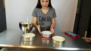 *LIVE* Calculating Cake Batter For Perfectly Sized Cakes Every Time!