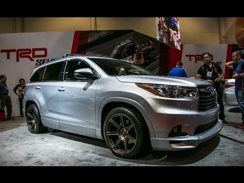Toyota Highlander TRD concept Review Rendered Price Specs Release Date