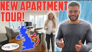 FINLEY TAPP: OUR NEW FLAT!