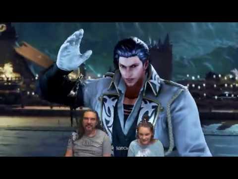 Tekken 7 Битва Папа против Таисии !!! на PC на двух джостиках!!!