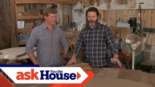 Touring Nick Offerman's Wood Shop | Ask This Old House