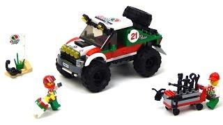 Lego City 60115 4 x 4 Off Roader Lego Speed Build