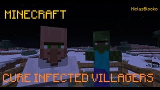 HOW TO: Cure an infected (Zombie)-Villager