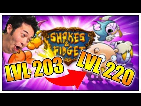 OBŘÍ PROGRESS!! (Shakes&Fidget)