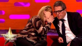 Meryl Streep Leaves Hugh Grant Speechless   The Graham Norton Show