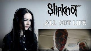 Slipknot   All Out Life [Reaction  Реакция]