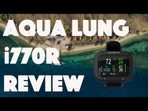 """Aqua Lung i770R Dive Computer Review & Vlog """"User Test & Conclusion"""" in Alor and Komodo, Indonesia"""