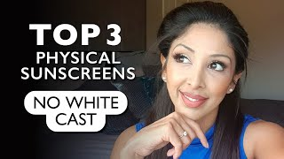 Top 3 PHYSICAL Sunscreens DOCTOR V| BROWN/ DARK skin | NO White cast | Mineral sunscreen | DR V uva