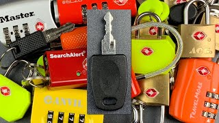 [795] TSA Master Keys — Why You Should NEVER Use Travel Locks (Except On Luggage)