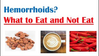 Best & Worst Foods to Eat with Hemorrhoids | How to Reduce Risk and Symptoms of Hemorrhoids