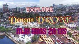 Explore pesing koneng kedoya jakarta barat dengan drone MJX BUGS 20EIS