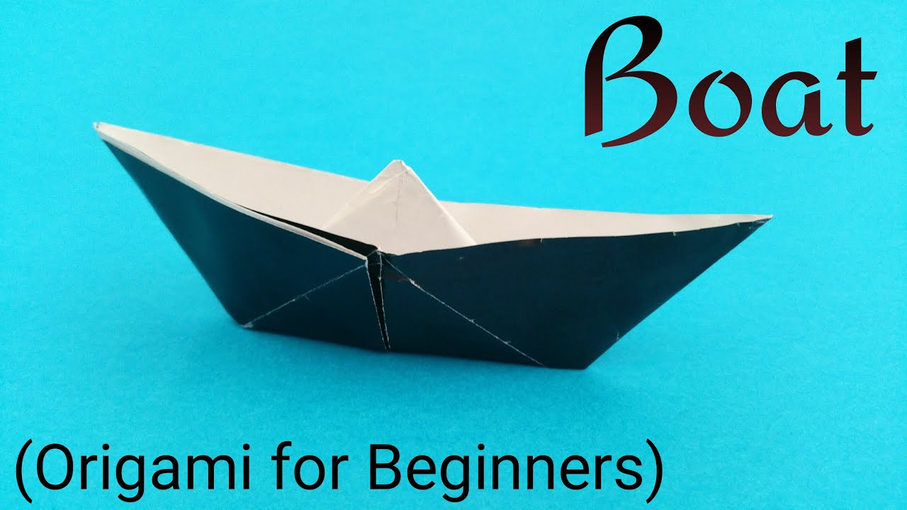 How To Make An Easy Paper Boat
