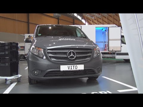 Mercedes-Benz Vito 116 CDI Aluca Panel Van (2020) Exterior and Interior