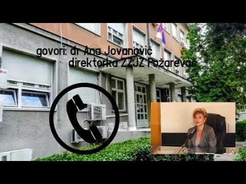 Zavod za javno zdravlje Požarevac:U Podunavskom okrugu od korona virusa zaraženo 9 pacijenata