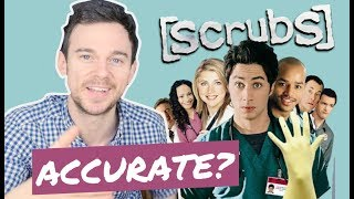 How accurate is SCRUBS first episode? Real doctor vs JD's first day (REACTION) - Video Youtube