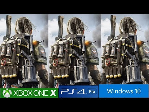The Division 2 Ps4 Pro Vs Xbox One X Vs Pc Frame Rate