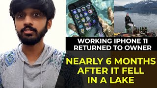 Working iPhone 11 returned to owner | TECHBYTES