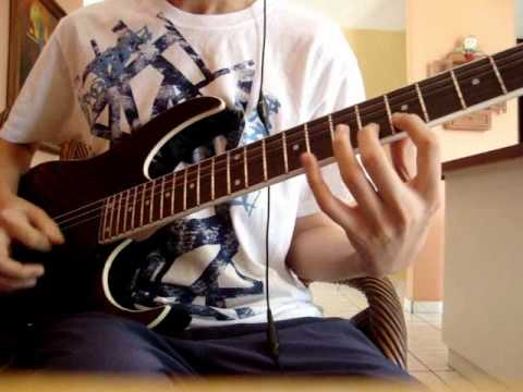 Bullet For My Valentine - Pleasure and Pain (guitar cover) w/HQ Audio
