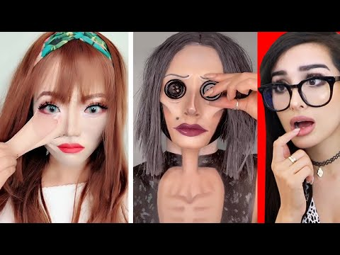Crazy Halloween Tik Tok Makeup Transformations