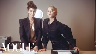 Gambar cover Workin' 9 to 5: Inside the Vogue Office! ft. Kate Upton, Elsa Hosk, Joan Smalls & More | Vogue