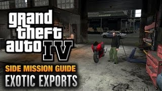 GTA 4 - Exotic Exports [Order Fulfilled Achievement / Trophy] (1080p)