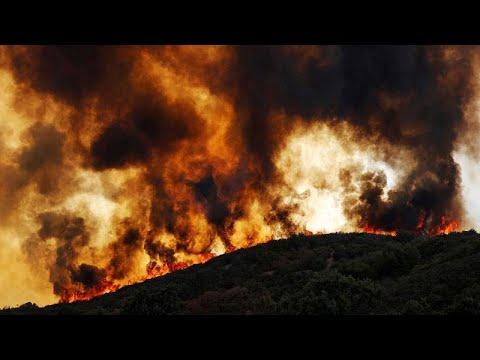 Καίει ακόμη η μεγαλύτερη πυρκαγιά στην ιστορία της Καλιφόρνια…