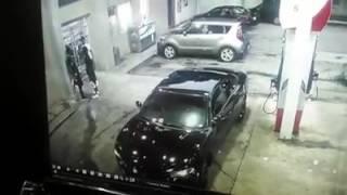 Epic Shootout At A Atlanta Gas Station AK47