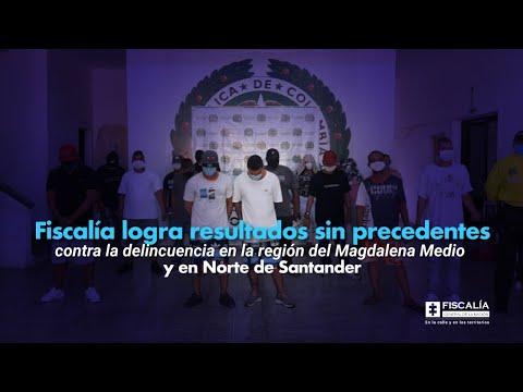 Fiscal Barbosa: Resultados contra la delincuencia en Magdalena Medio y Norte de Santander