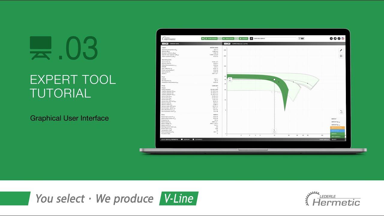 03 | HERMETIC expert tool | Graphical user interface (en)