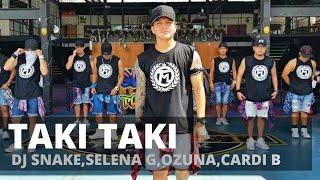 TAKI TAKI by Dj Snake,Selena G,Ozuna,Cardi B. | Zumba® | Reggaeton | Kramer Pastrana