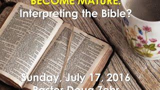 Oak Grove Message 07172016