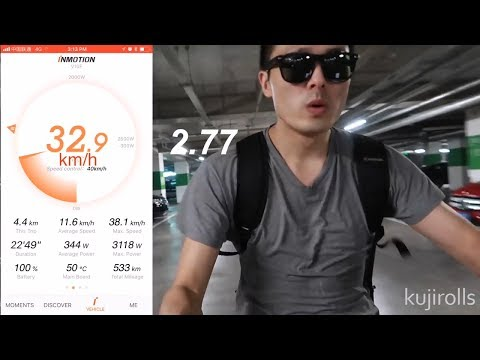 Inmotion V10 Electric Unicycle Review | by Kuji