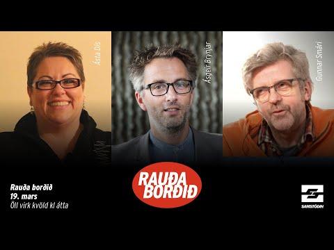 Rauða borðið, 18. mars