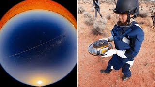 video: Japanese space probe may answer questions about solar system's origins after landing in Australian outback