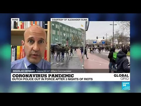 Coronavirus pandemic: Calm returns to Netherlands after 3 nights of riots