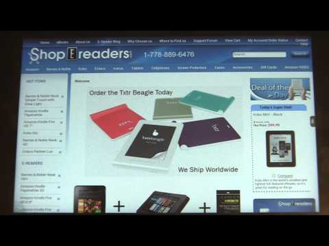 Video of Shop e-Readers Store