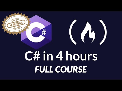 C# Tutorial – Full Course for Beginners