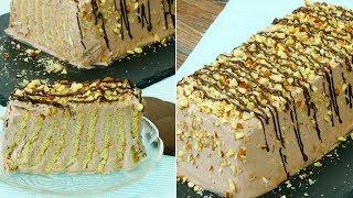 Ciasto bez pieczenia na herbatnikach - proste i szybkie w przygotowaniu! | smaczny.tv