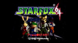 Star Fox 64   Complete 100% Walkthrough   All Routes, All Medals (Longplay)